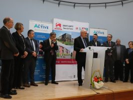 Inauguration logements Outreau