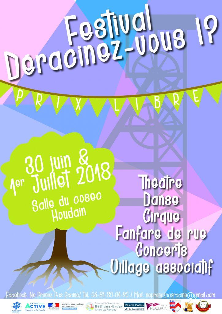 """Le samedi 30 juin, 12 danseurs du SAJ de Loison-sous-Lens participerons au Festival """"Déracinez-vous"""" !"""