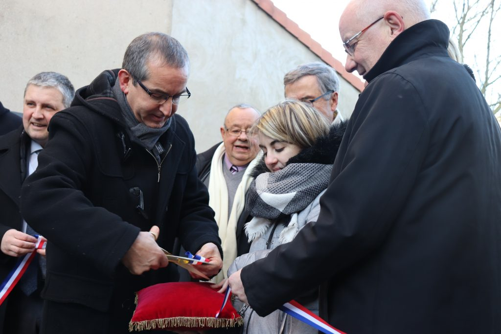 Inauguration logements Outreau