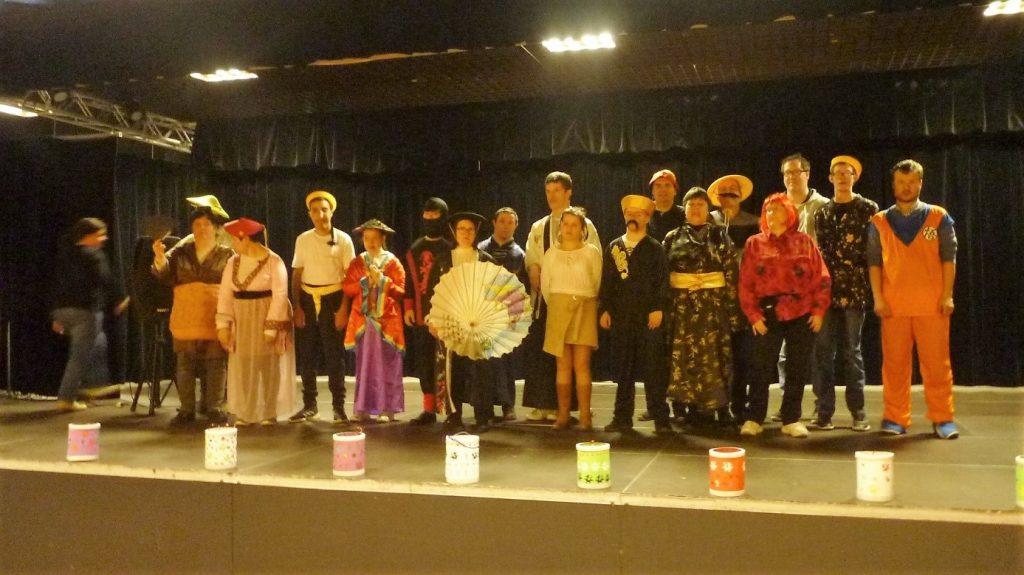 Carnaval SAJ japonais