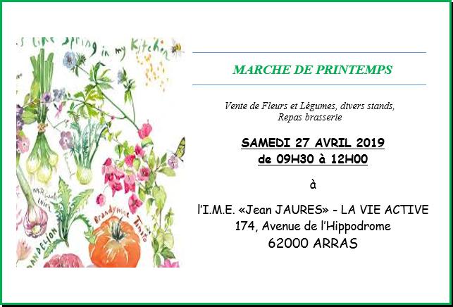 Marché de printemps