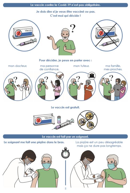le vaccin COVID FALC