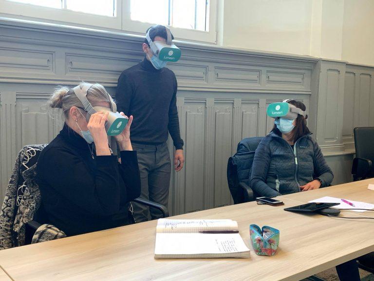 lumeen réalité virtuelle